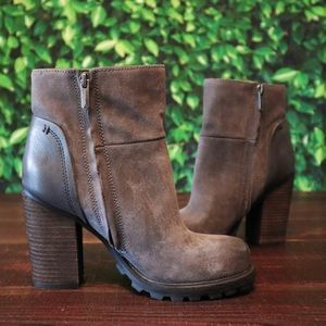NWOT Sam Edelman | Leather Chunky Heel Boots